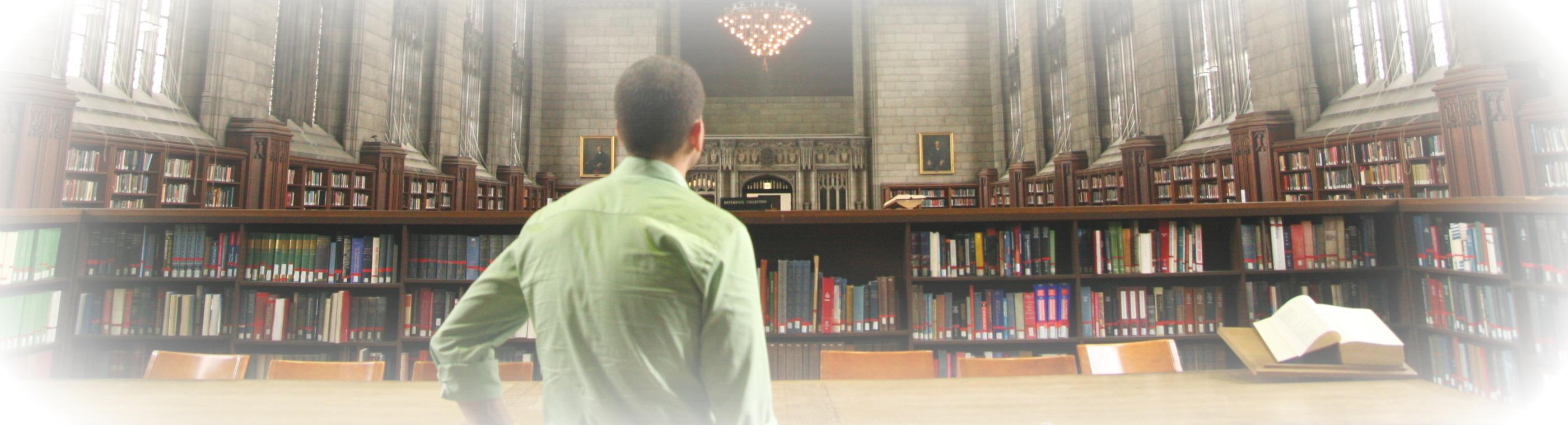 Imagen de la biblioteca de Harper University